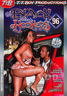 Black Street Hookers 96 Box Cover