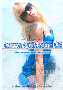 Carrie Quicksand 05 Box Cover