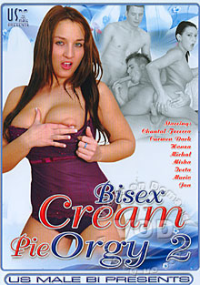 Bisex Cream Pie Orgy 2 Box Cover