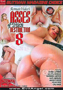 Asses Of Face Destruction 8 Box Cover