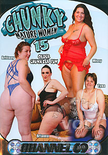Chunky Mature Women 15 Box Cover