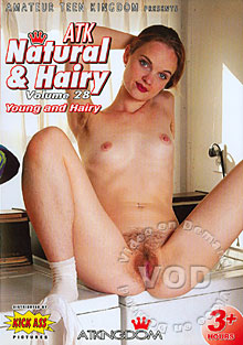 ATK Natural & Hairy Volume 28 - Young And Hairy