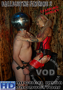 Ballbusting FemDoms 2 - Harley Box Cover