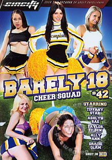 Barely 18 #42 - Cheer  Squad Box Cover