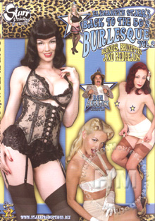 Elizabeth Starr's Back To The 50's Burlesque Vol. 2 - Blondes, Brunettes And Redheads Box Cover