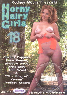 Horny Hairy Girls 18 Box Cover