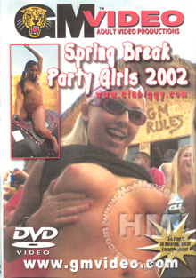 Spring Break Party Girls 2002 Box Cover