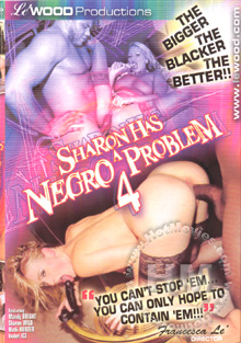 Sharon Has A Negro Problem 4 Box Cover