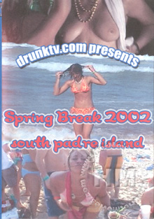 Spring Break 2002 - South Padre Island Box Cover