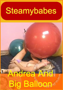 Andrea And Big Balloon Box Cover