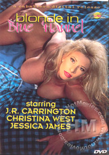 Blonde in Blue Flannel Box Cover