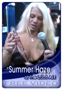 Summer Haze Interview At The 2005 Adult Entertainment Expo Box Cover