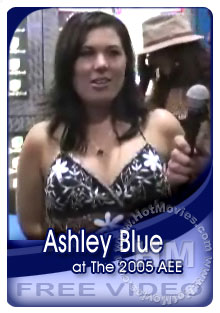 Ashley Blue Interview At The 2005 Adult Entertainment Expo Box Cover