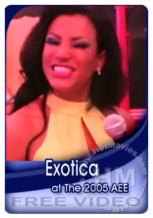 Exotica Interview At The 2005 Adult Entertainment Expo Box Cover