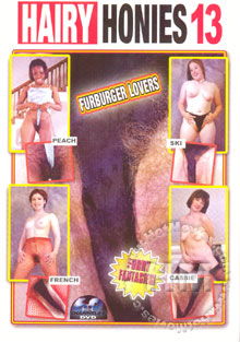 Hairy Honies 13 Box Cover