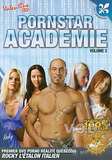 Pornstar Academie Volume 3 Box Cover