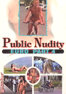 Public Nudity - Euro Part 4 Box Cover