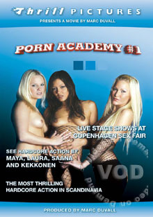 Porn Academy #1 Box Cover