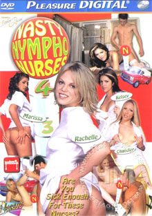 Nasty Nympho Nurses 4 Box Cover
