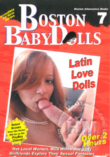 Boston BabyDolls 7 - Latin Love Dolls Box Cover