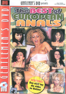 The Best Of European Anals Box Cover