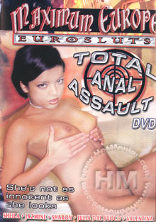 Maximum Europe Eurosluts - Total Anal Assault Box Cover