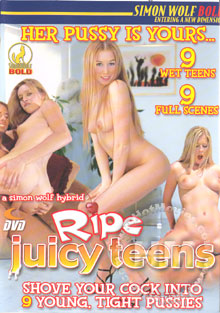 Ripe Juicy Teens Box Cover