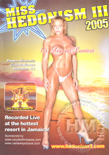 Miss Hedonism III 2005 Box Cover