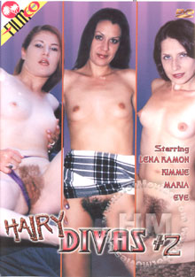 Hairy Divas #2 Box Cover