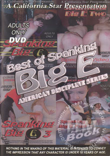 Best Of Spanking Big E - American Discipline Series Box Cover
