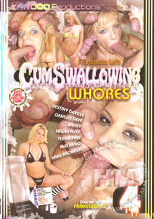 Cum Swallowing Whores 4 Box Cover
