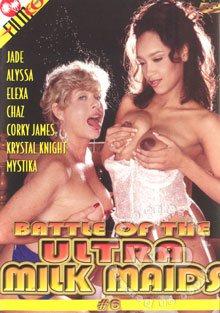 Battle Of The Ultra Milk Maids #6 Box Cover