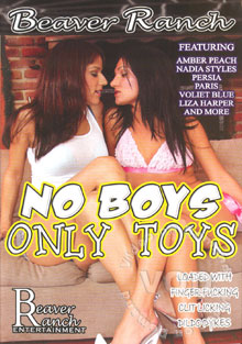 No Boys Only Toys Box Cover