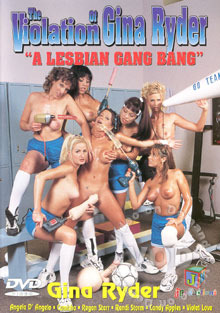 The Violation Of Gina Ryder - A Lesbian Gang Bang Box Cover