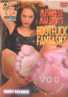 Mistress Malory's Footfuck Fantasies Box Cover - Login to see Back