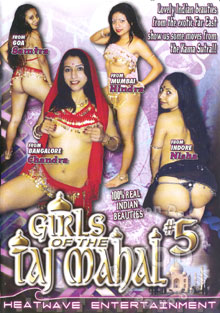 Girls Of The Taj Mahal #5 Box Cover