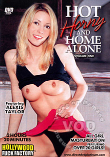 Hot, Horny And Home Alone Box Cover