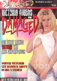 Victoria Givens Is Damaged Box Cover