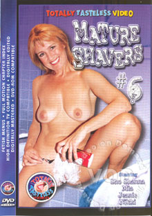 Mature Shavers #6 Box Cover