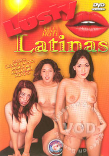 Lusty Latinas Box Cover