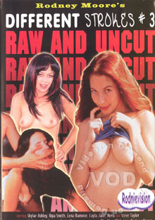 Different Strokes #3 Raw And Uncut Box Cover