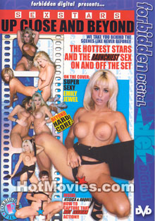 Sex Stars Up Close and Beyond Box Cover