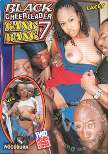 Black Cheerleader Gang Bang 7 Box Cover