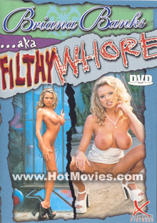 Briana Banks aka Filthy Whore Box Cover