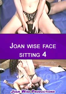 Joan Wise Face Sitting 4 Box Cover