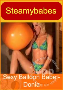 Sexy Balloon Babe - Donia Box Cover