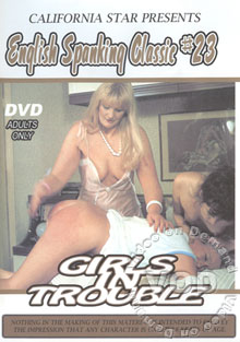 English Spanking Classic #23 Girls In Trouble Box Cover