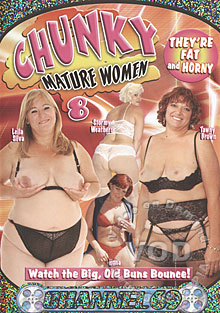 Chunky Mature Women 8 Box Cover