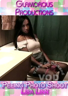 Peeing Photo Shoot - Lisa Linn Box Cover