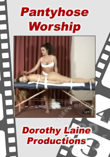 Pantyhose Worship Box Cover